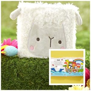 NWT! Children's Whimsical Fuzzy Lamb Cover Book